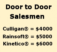 Compare Compare Culligan Rainsoft and Kinetico Brands and Equipment