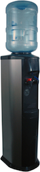 Hot and Cold Bottled Water Cooler (Stainless)