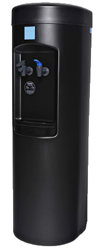 "Black ""Bottle-Less"" Cook And Cold Water Cooler"